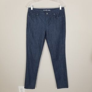 Michael Kors Womens Jeans Skinny Fit Cropped Jeans